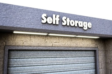 self storage sign