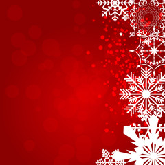 Abstract Beauty Christmas and New Year Background. Vector