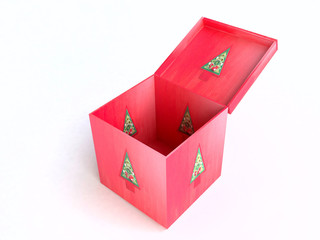 3D Christmas Gift Box