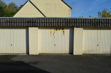 Série de garages