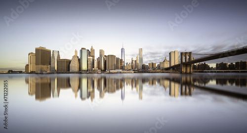 Manhattan sunrise, New york