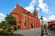 Resurrectionist congregation church in Kocierzyna, Poland.