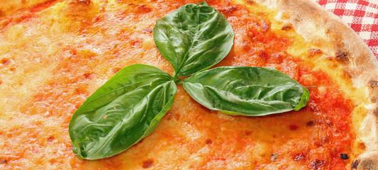 delicious Italian pizza in a pizzeria in Naples