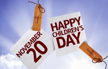 20 November Happy Childrens Day