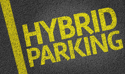 Parking space reserved for Hybrid shoppers