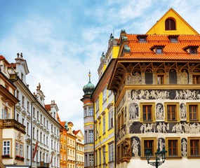 """The house """"At the Minute"""" (Dum u Minuty) in Prague"""