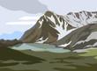 Mountains landscape - 71228637