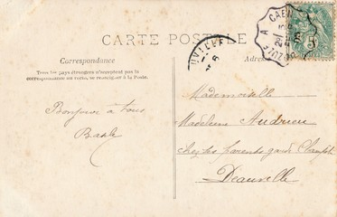 French Antique Postcard 77