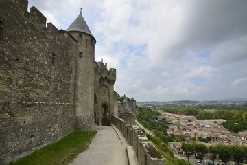 View of Carcassonne - France