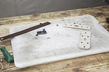 Manufacturing belts