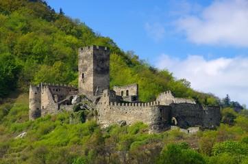 Spitz Ruine Hinterhaus - Spitz castle ruin Hinterhaus 06