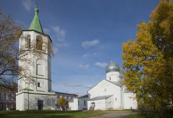 Храм великомученника Дмитрия Солунского. Великий Новгород