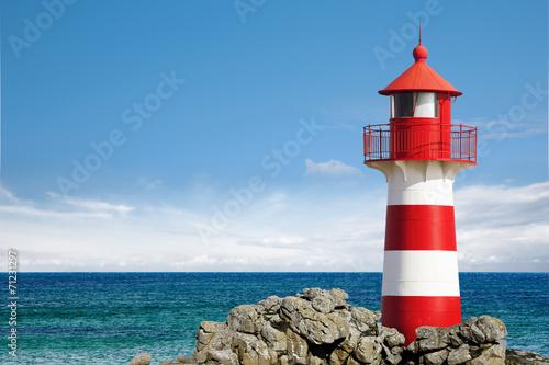Leuchtturm am Ozean - 71231297