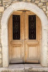 Massive old door