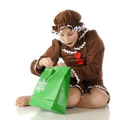 Surprised Gingerbread Girl