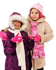 Wintertime Sisters
