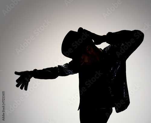 dancer silhouette - 71233601