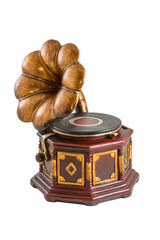 Model of gramophone