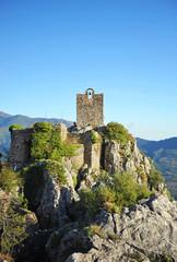 Castillo de Gaucín, serranía de Ronda, Málaga, España