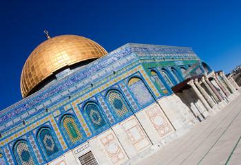 Felsendom auf dem Temelberg in Jerusalem