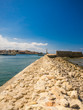 canvas print picture - Hafen in Chania