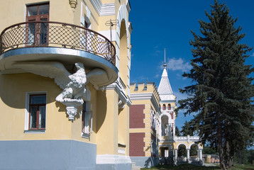 Manor estate in Kyritz. Ryazan region. Russia