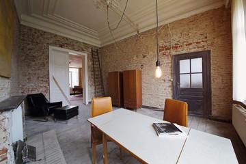 intérieur brut contemporain