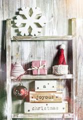 vintage christmas deko