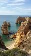 canvas print picture - Praia da marinha