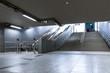Modern metro interior - 71236416