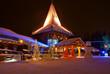 Leinwandbild Motiv Santa Claus Village