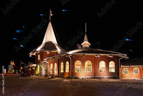 Foto op Aluminium Scandinavië .Santa Claus Village