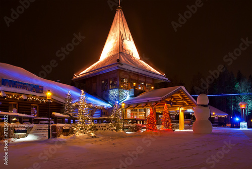 Fotobehang Scandinavië Santa Claus Village