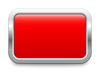 Red metallic button - rectangular template