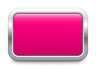Pink metallic button - rectangular template