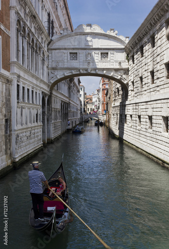 Fotobehang Venice The Bridge of Sighs, Venice, Italy