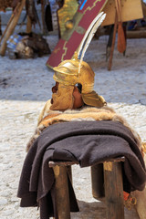 Roman empire helmet