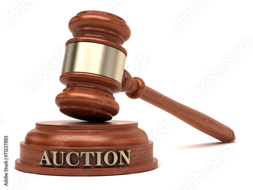Auction Gavel  Public Sale - 71237883