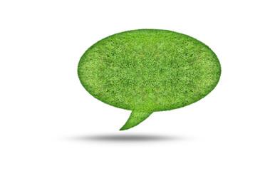 grass bubble isolate