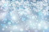 Abstract blurry snowflake - 71238432