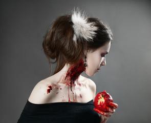bloody apple