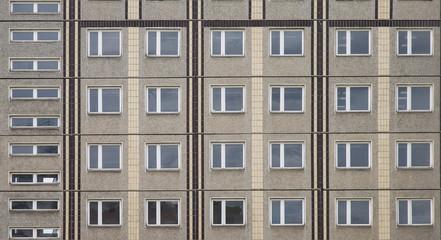 Fassade, Plattenbau, Berlin