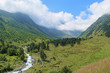 Valley of Bilyagidon river, Caucasus, Russia