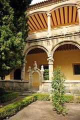 Claustro del Monasterio de Yuste, Cáceres, España