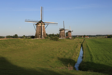 Windmühlen in Holland