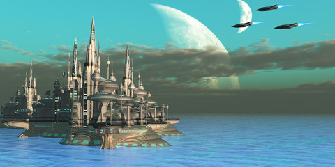 Quadron Sector Planet