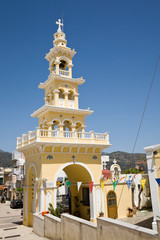 Church tower, Palaiochora, Crete