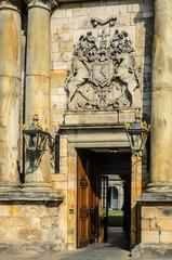Holyrood Palace, ingresso