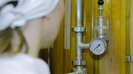 laboratory on food industry (brewery)