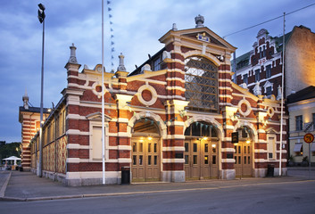 The Old Market Hall in Helsinki. Finland